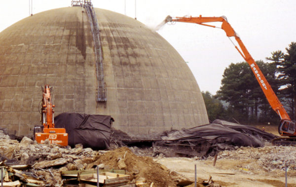 Maine Yankee Nuclear Power Plant Decommissioning & Demolition