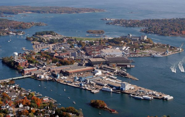 Portsmouth Naval Shipyard Building