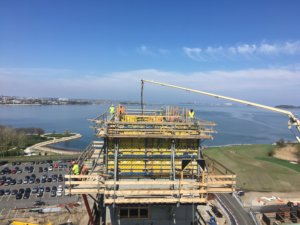 manafort precision completes cast in place concrete contract for